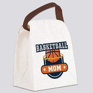 Basketball Mom Canvas Lunch Bag