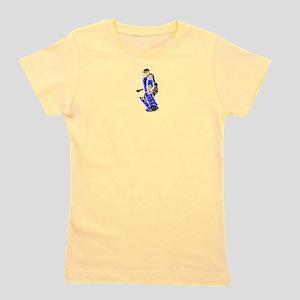 Field Hockey Goalie Ash Grey T-Shirt - Blue T-Shir