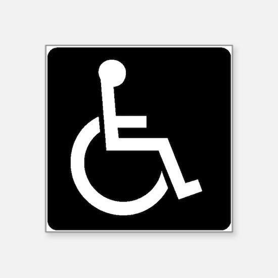 Handicapped Sign Sticker