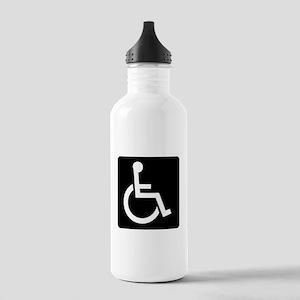 Handicapped Sign Water Bottle