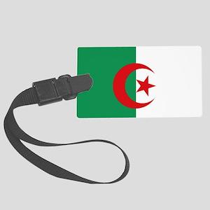 Algerian flag Large Luggage Tag