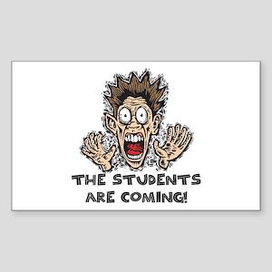 Funny Teacher Gifts Rectangle Sticker