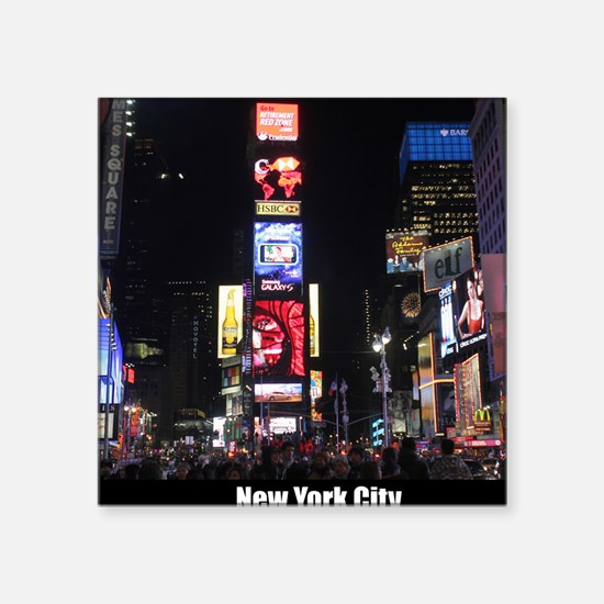 Times Square New York City Pro photo Sticker