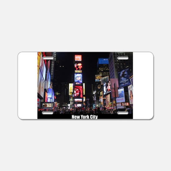 Times Square New York City Aluminum License Plate