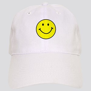 Yellow Smiley Face Baseball Cap
