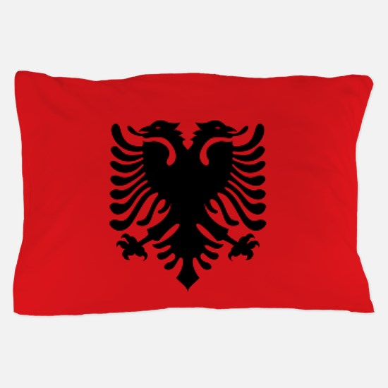 Albanian flag Pillow Case