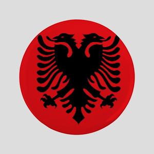 """Albanian flag 3.5"""" Button"""