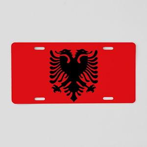 Albanian flag Aluminum License Plate