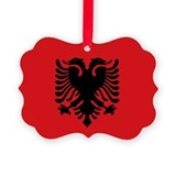 Albania Picture Frame Ornaments