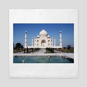 Taj Mahal - Pro photo Queen Duvet