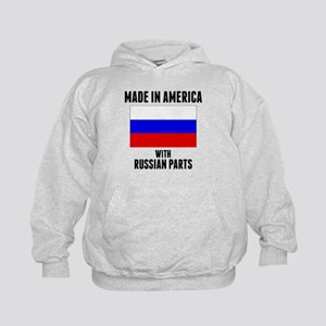 Made In America With Russian Parts Hoodie