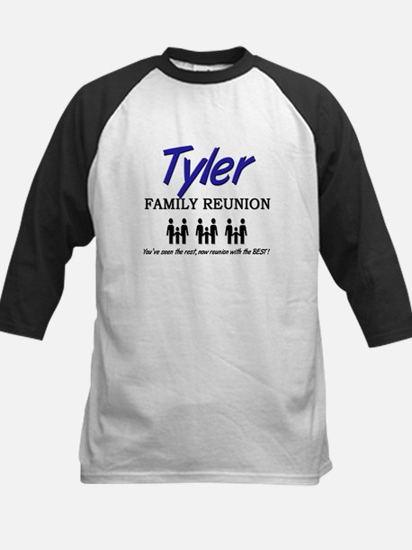 Tyler Family Reunion Kids Baseball Jersey