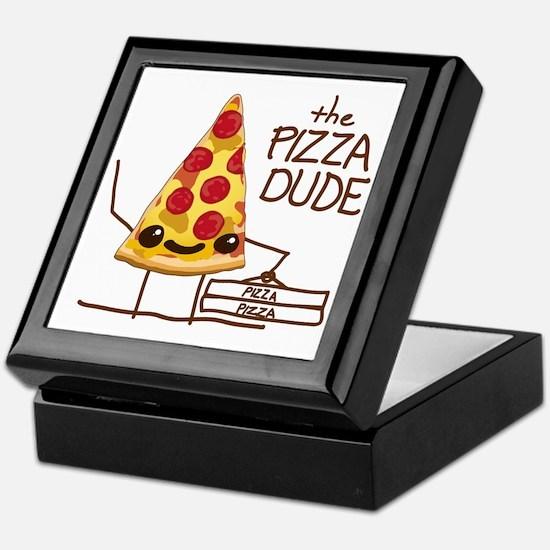 The Pizza Dude Keepsake Box