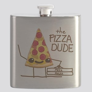 The Pizza Dude Flask