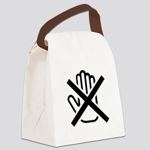 Do Not Touch Canvas Lunch Bag
