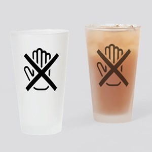 Do Not Touch Drinking Glass
