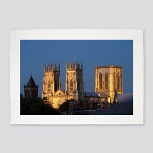 York Minster Stunning pro photo 5'x7'Area Rug
