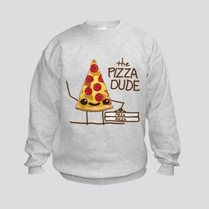 The Pizza Dude Kids Sweatshirt