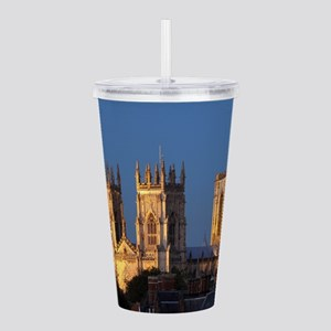 York Minster Stunning Acrylic Double-wall Tumbler