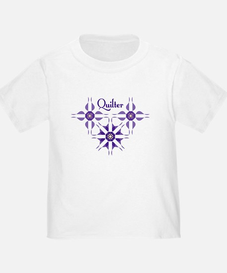 Quilted Violet T-Shirt