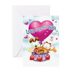 Love is in the Air Greeting Cards