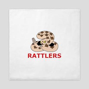 RATTLESNAKE RATTLERS Queen Duvet