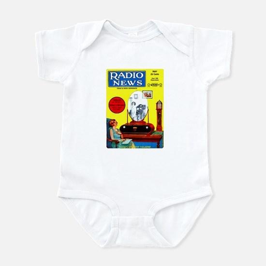 Radio News Infant Bodysuit