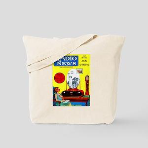 Radio News Tote Bag