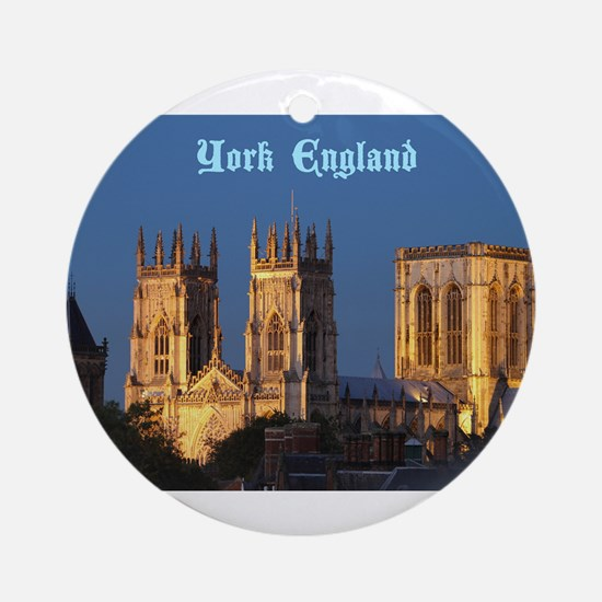 York Minster - Pro photo Ornament (Round)