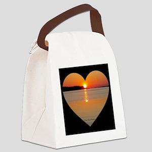 Sunrise On Dawson's Creek Canvas Lunch Bag