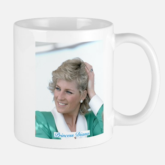 HRH Princess Diana Australia Mugs