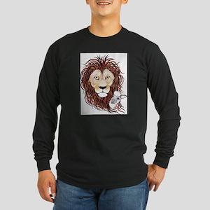 Peek-a-boo lamb with lion Long Sleeve T-Shirt
