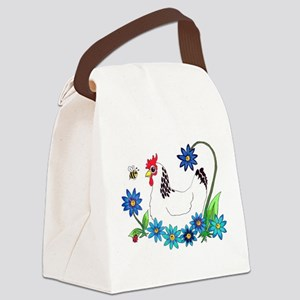 SPRING IS IN THE AIR Canvas Lunch Bag