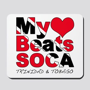 My Heart Beats Soca Mousepad