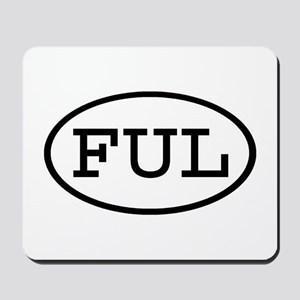 FUL Oval Mousepad