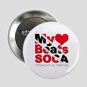 """My Heart Beats Soca 2.25"""" Button"""