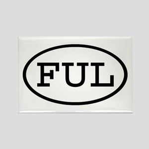 FUL Oval Rectangle Magnet