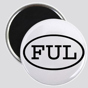 FUL Oval Magnet