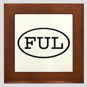 FUL Oval Framed Tile