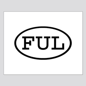 FUL Oval Small Poster