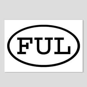 FUL Oval Postcards (Package of 8)