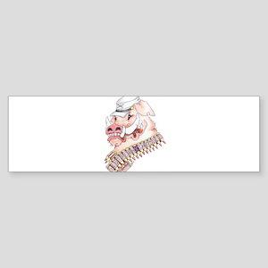 OINK Y'ALL Bumper Sticker