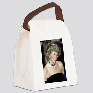 HRH Princess Diana Germany 1987 Canvas Lunch Bag