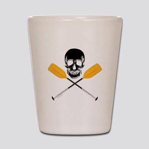 Paddle or Die Shot Glass