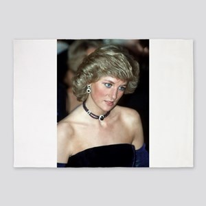 HRH Princess Diana Germany 1987 5'x7'Area Rug