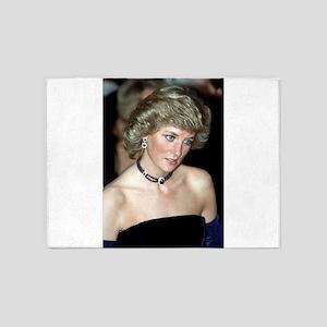 HRH Princess Diana Germany 1987 5'x7'Area Rug
