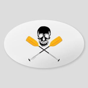 Paddle or Die Sticker