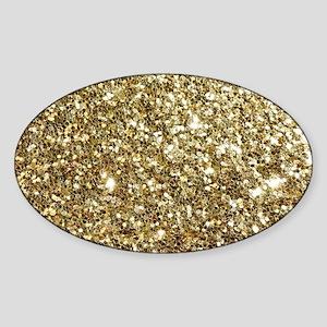 Realistic Gold Sparkle Glit Sticker