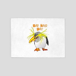 BAD HAIR DAY 5'x7'Area Rug