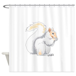 Flying Squirrel Shower Curtains